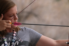 Singles' Retreat: archery