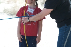 Mother-Daughter: archery