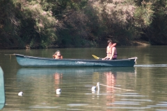 Mother-Daughter: canoeing