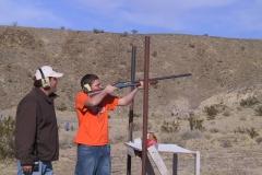 Youth Winter Rendezvous: shotguns