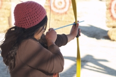 Youth Winter Rendezvous: archery